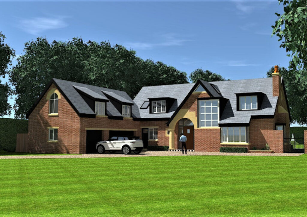 New project in progress in Prestbury